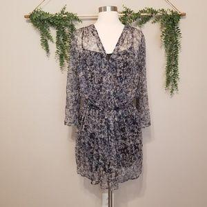 Joie 100% Silk Printes Dress Size Medium